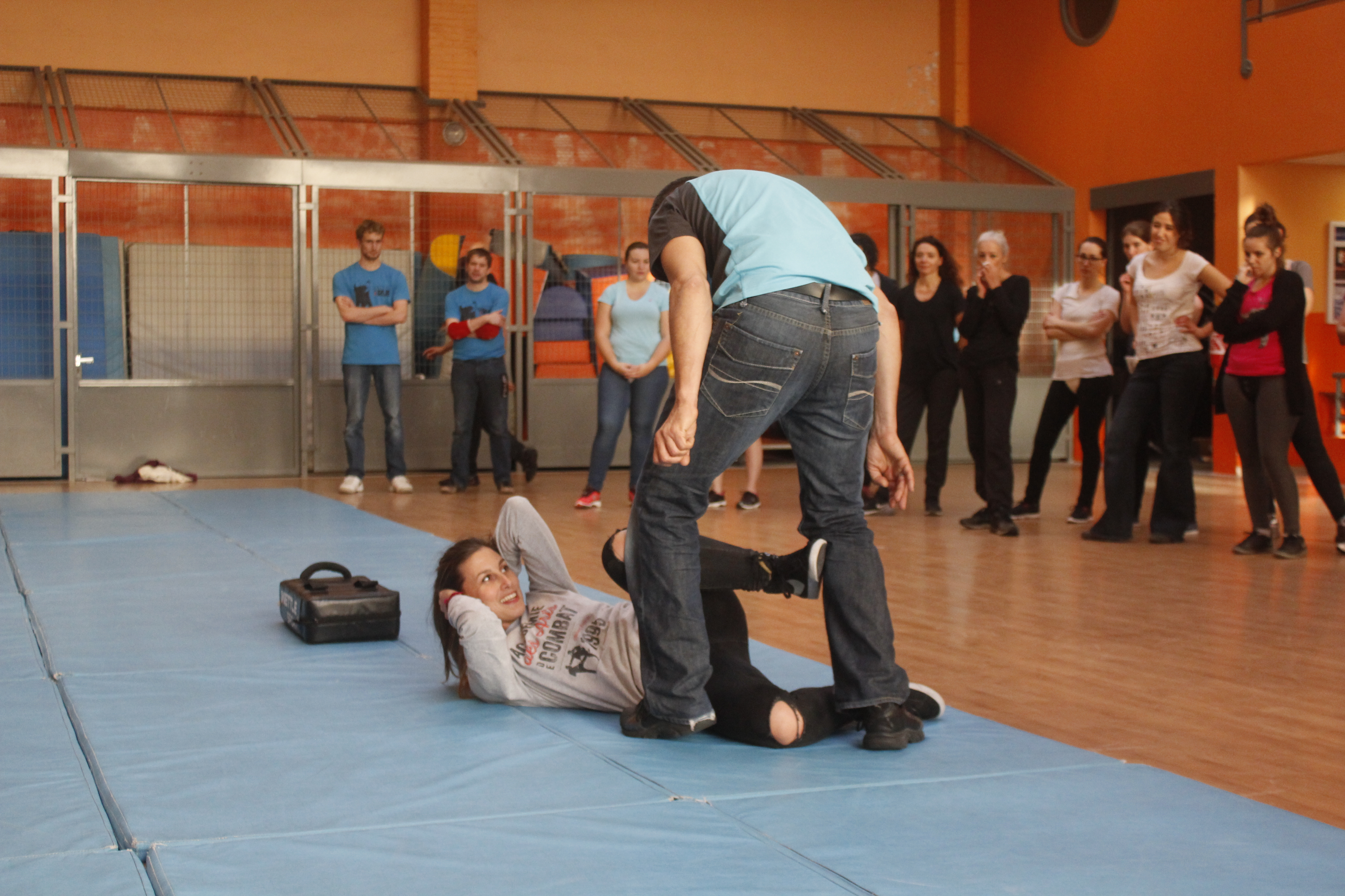 Raphaële Malderez Self-Défense Féminine Amazon Training