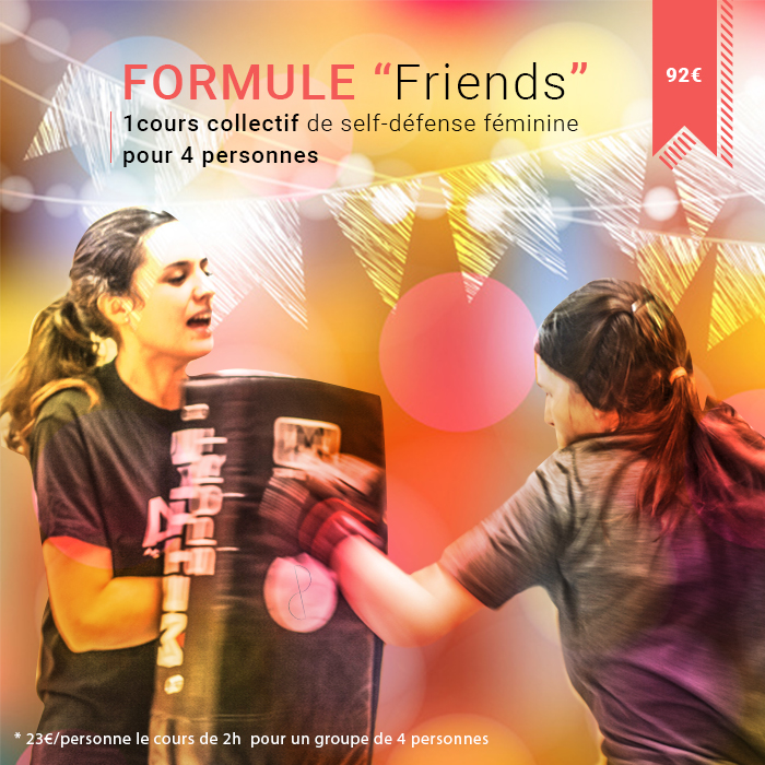 venez avec vos amies prendre un cours de self-défense féminine